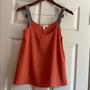 Boutique top with cute back